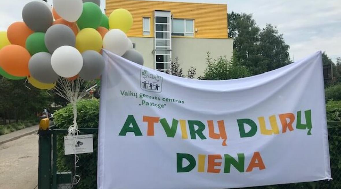 """Vaikų gerovės centras """"Pastogė"""" linksmai pradėjo renginių skirtų Globėjo dienai paminėti savaitę"""